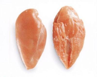 Pechuga de pollo sin piel sin hueso